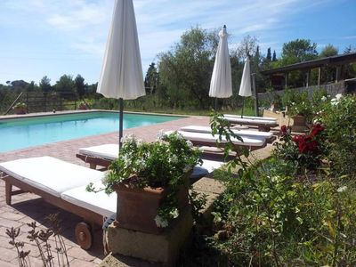 INDEPENDENT HOUSE with GARDEN and POOL  in the heart of Tuscany- SEA 9 km
