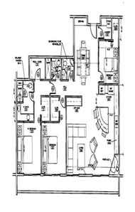 Floor plan distorted by website - where it says VRBO is Aspen Mountain