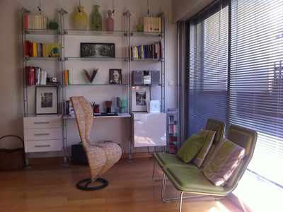 Bright double living, design, between Les Invalides and the Champ de Mars