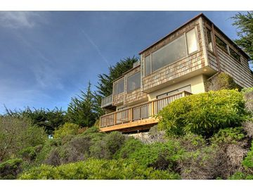 Carmel Highlands house rental - Exterior of the Home Facing the Ocean