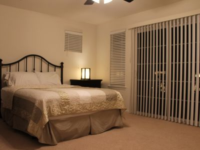 Littleton townhome rental - Master Bedroom with balcony