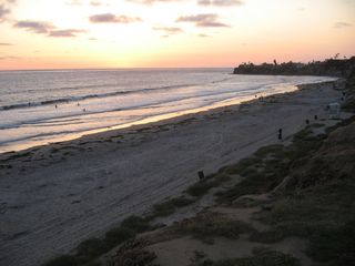 Pacific Beach cottage photo - The beautiful California Sunset is just steps away