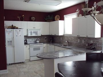 Windy Hill villa rental - Our recently remodeled kitchen