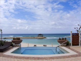 Montego Bay apartment photo - Jacuzzi, Gazebo and Ocean view