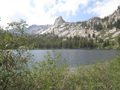 Lake Gregory fishing/hiking opportunities.