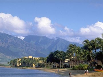 sugar beach and west Maui mountains