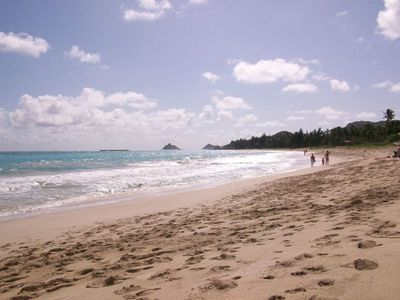 Kailua Beach in the morning...A picture of serenity!