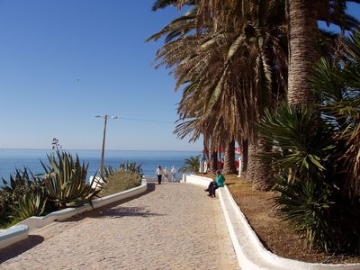 From the famous boulevard down to the sandy beach