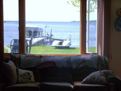Isle cabin rental - Beautiful view of Isle Bay