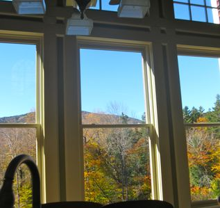 View of Mt Snow from Kitchen windows