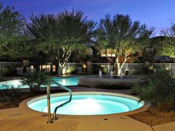 Other Scottsdale Properties condo rental - Good time of evening for a dip in the relaxing spa