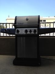 Pacific Beach townhome photo - Patio barbecue