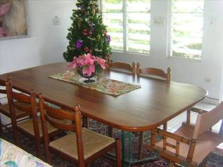St. Croix house photo - Indoor dining area