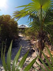 Staniel Cay house photo - Path to the beach