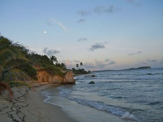 Vieques Island villa photo - Playa Grande is less than 10 mins from the Casita, great sunsets and moon rises