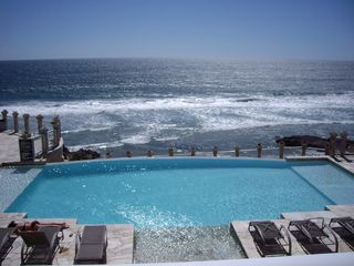 Rosarito Beach condo photo - View from the unit.