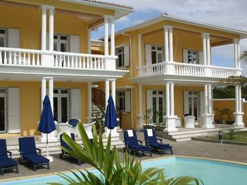 Trou Aux Biches villa rental - Résidence: 'Mo ti Paradis' with Pool and garden