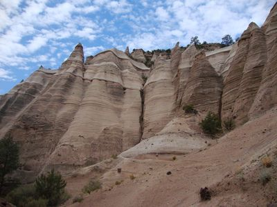 Tent Rocks National Monument.