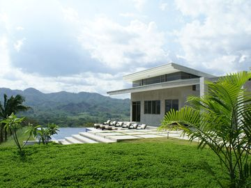Nicoya house rental - Infinity Pool with depth from 3 feet to 9 feet, located just above Guest House