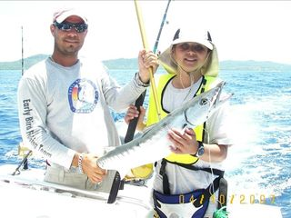Roatan house photo - Fishing for all ages