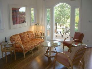 Silver Lake apartment photo - Living Room & Private Deck
