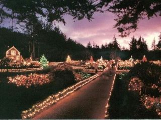 Coos Bay house photo - Lights at shore acres ThanksGiving 2 New Years Day