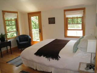 Gayhead - Aquinnah house photo - Second bedroom with private deck