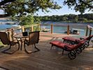 Wonderful breezes from main body of lake make this a great place to relax.