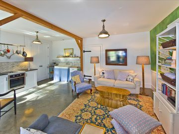 Asheville farmhouse rental - An immaculate, comfortable, luxurious space with tons of natural light.