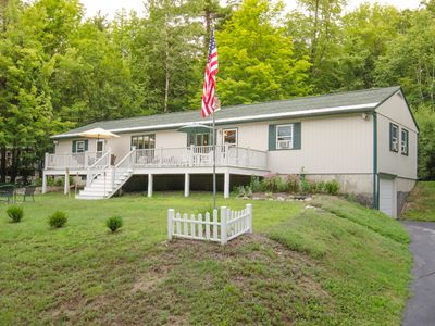 76 foot 5 bedroom/2bath ranch with extra large deck.