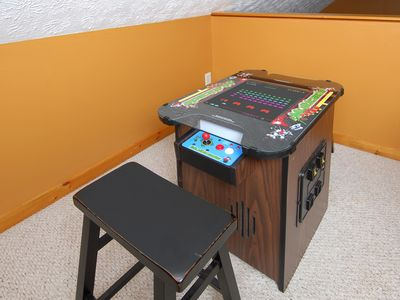 This 2 player Atari game has over 55 titles to choose from