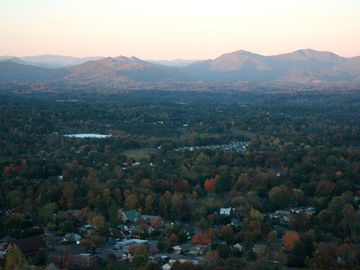 Weaverville apartment rental - Weaverville and surrounding mountains