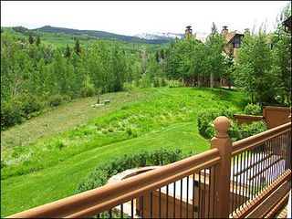 Snowmass Village house photo - View from the deck