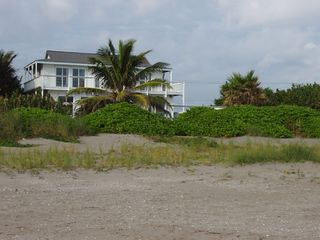 Hutchinson Island townhome photo - View of building from beach