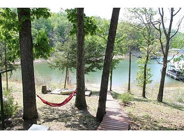 Rogers cottage rental - View from lower deck