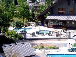 Whistler condo photo - Two of the three hot tubs