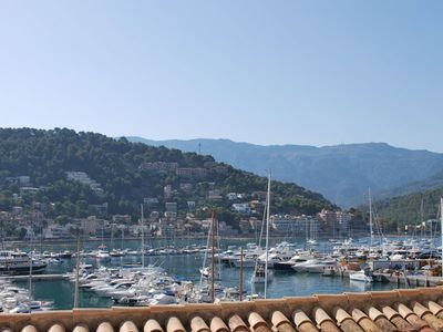 Modern, well located apartment with harbour views in Port of Soller