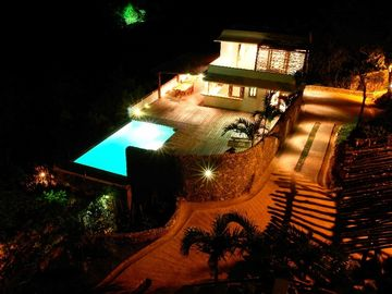 Las Terrenas villa rental - By night