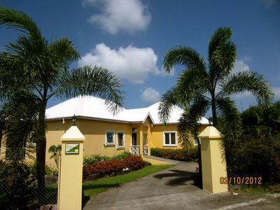 Pinney Beach villa rental