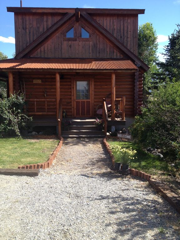 Paradise Valley Vacation Rental Vrbo 654520 0 Br Yellowstone Country Cabin In Mt Montana