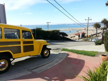 Aptos bungalow rental - The Surf House. Surf and Sand View.