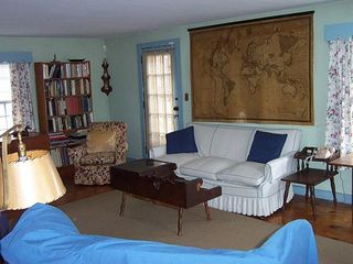 Little Compton farmhouse photo - Living room