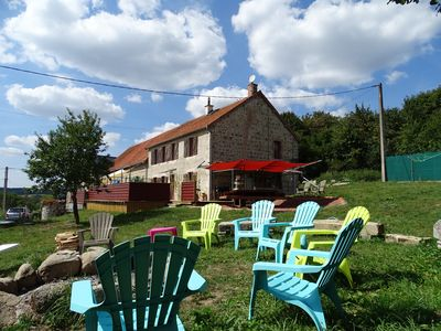 Stone Farmhouse In Central France with all year indoor heated pool