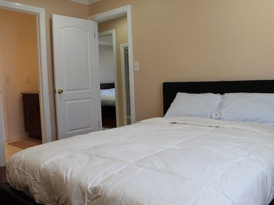 View of one of the bedrooms with Queen size bed
