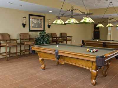 Game & Billiards Room