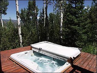 Snowmass Village house photo - Hot Tub with Views