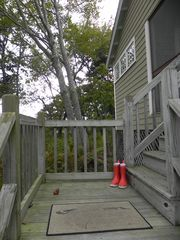 Kennebunkport cabin photo - Front Porch