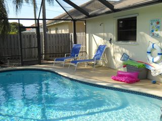 Vanderbilt Beach house photo - pool furniture and toys