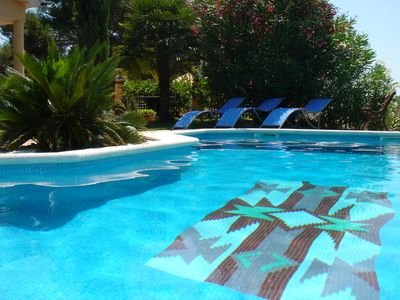 Fantastic villa with private pool, garden and wonderful views.