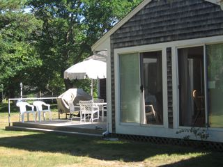 Dennis Village house photo - Screened-In Porch and Patio